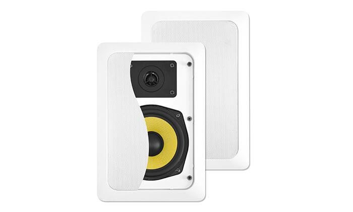2 זוג רמקולים שקועים Pure Acoustics - משלוח חינם!