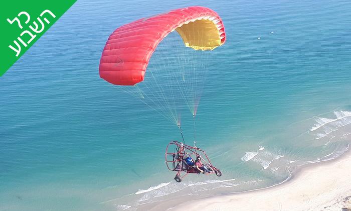 2 טיסה בבקאי - טרקטורון מעופף - עם 'עד השמיים - טיסות חוויה', עין ורד