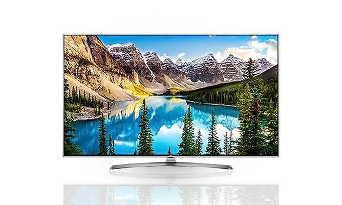 2 טלוויזיה SMART 4K LG, מסך 70 אינץ'