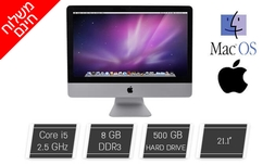 מחשב Apple AIO מסך ''21.5