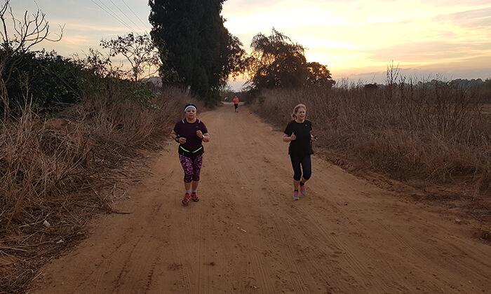 2 אימוני ריצה קבוצתיים עם אור דלח, פארק האגם הוד השרון