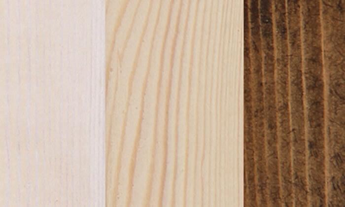 3 אולימפיה: מיטה מעץ מלא דגם 5008 עם מזרן