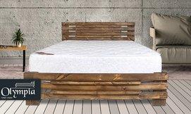 מיטה ברוחב וחצי עם מזרן 5008