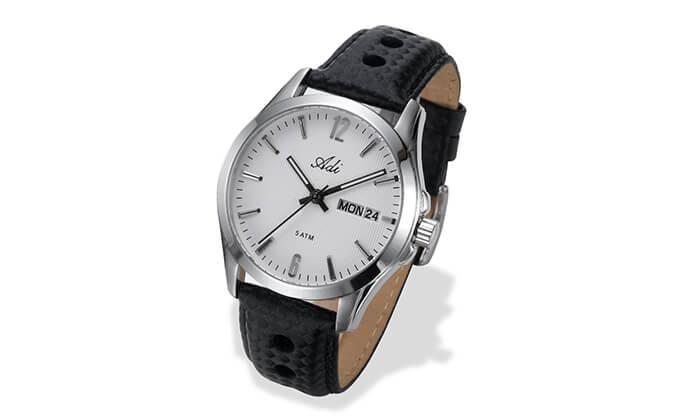 2 שעון יד אנלוגי לגבר Adi