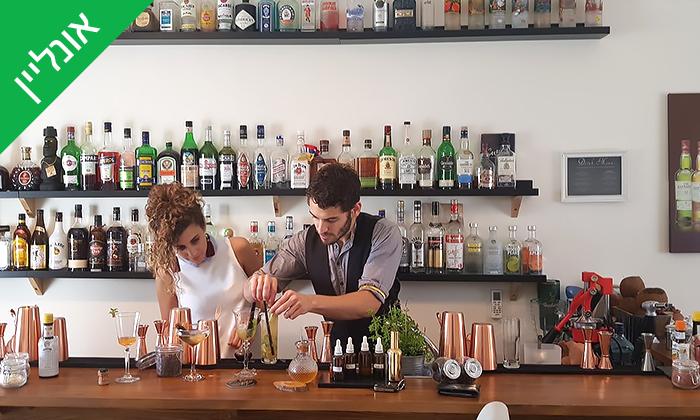11 סדנת קוקטיילים LIVE עם Mixta Cocktails