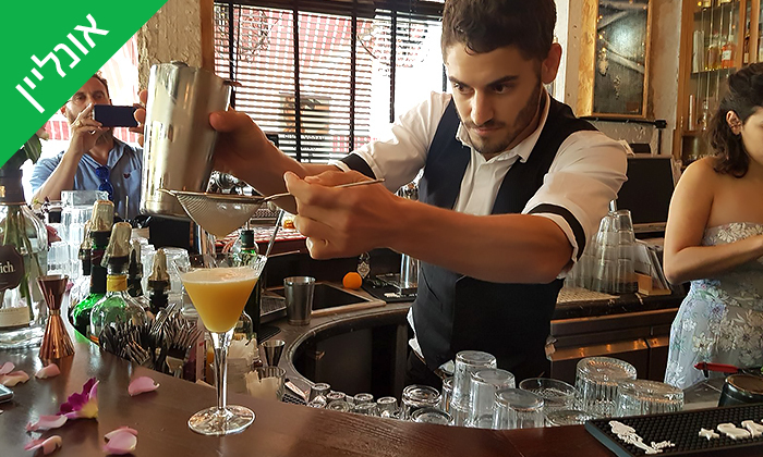 12 סדנת קוקטיילים LIVE עם Mixta Cocktails