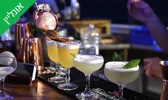 14 סדנת קוקטיילים LIVE עם Mixta Cocktails