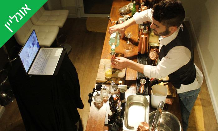 8 סדנת קוקטיילים LIVE עם Mixta Cocktails