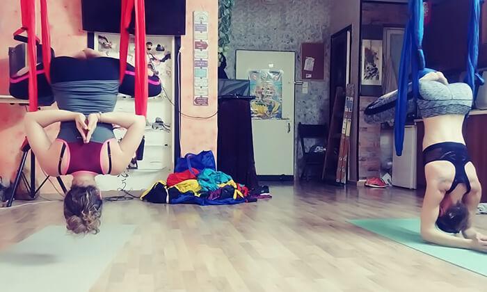 5 שיעור יוגה ערסלים בסטודיו פליי פיטנס, חיפה