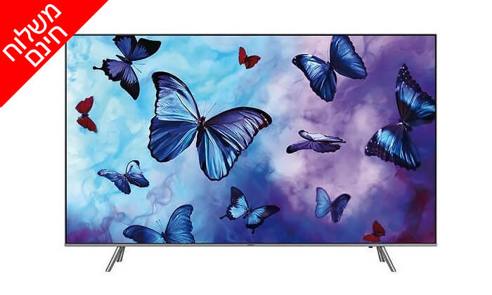2 טלוויזיה חכמה 4K SAMSUNG, מסך 55 אינץ' - משלוח חינם