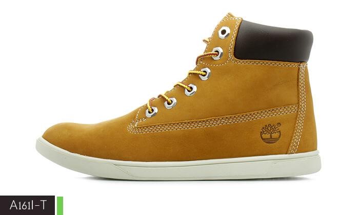 6 נעלי Timberland לנשים ולגברים