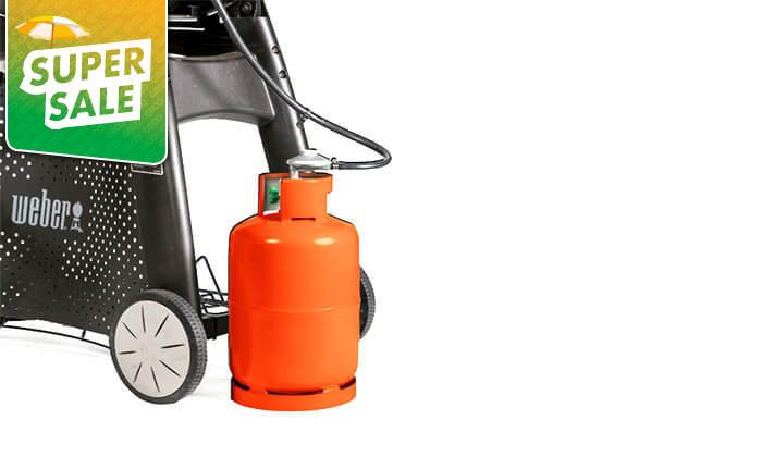 5 גריל גז מורכב וובר Weber דגם Q3200