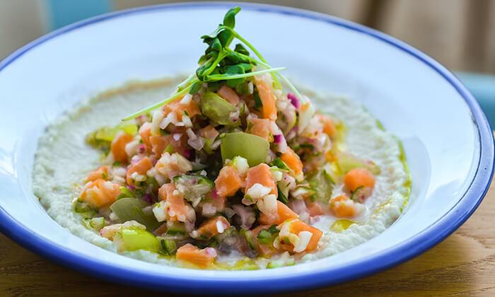 5 ארוחת טעימות יוונית זוגית בפלומרי Plomari 29 הכשרה, ראש פינה