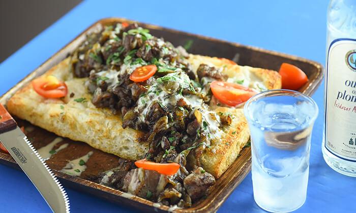 3 ארוחת טעימות יוונית זוגית בפלומרי Plomari 29 הכשרה, ראש פינה