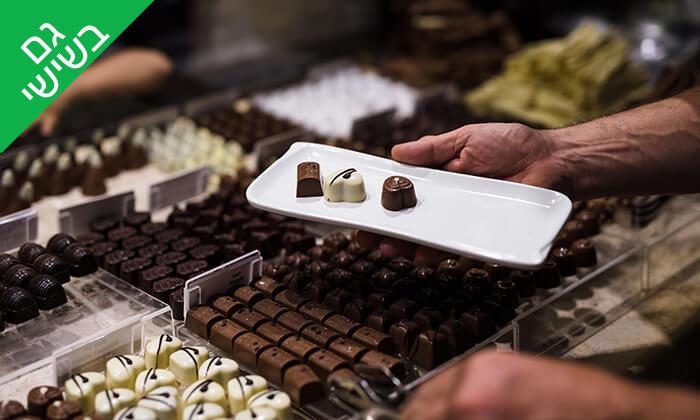 2 ביקור במפעל השוקולד DE KARINA, עין זיוון
