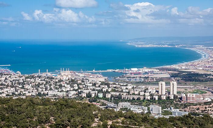 7 רכבל על הזמן - יום כיף עם סיור לכל המשפחה, חיפה