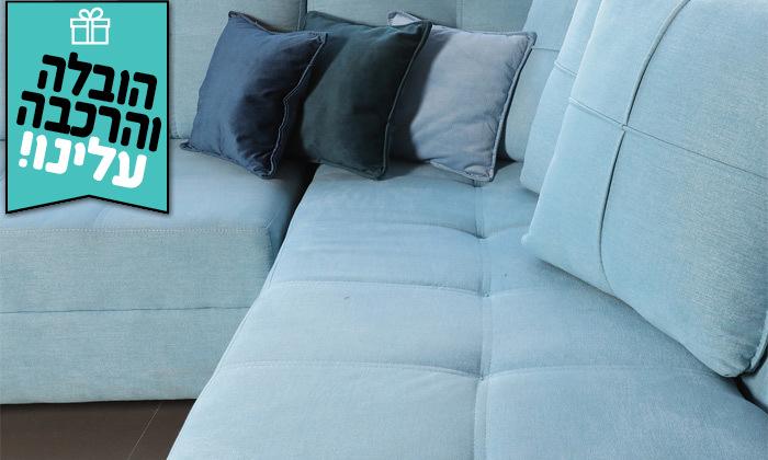 10 סלון פינתי של ויטוריו דיוואני דגם טיבולי - הובלה והרכבה חינם