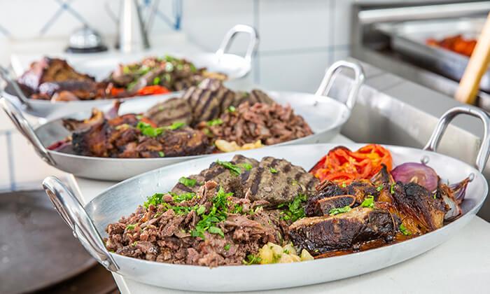 9 ארוחת טעימות יוונית זוגית במסעדת סופלקי הכשרה, נתניה