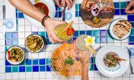 ארוחה יוונית לזוג בסופלקי