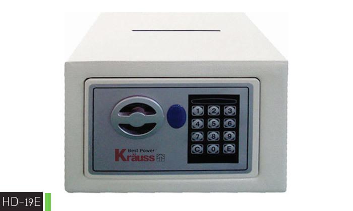 7  כספת דיגיטלית KRAUSS - דגמים לבחירה