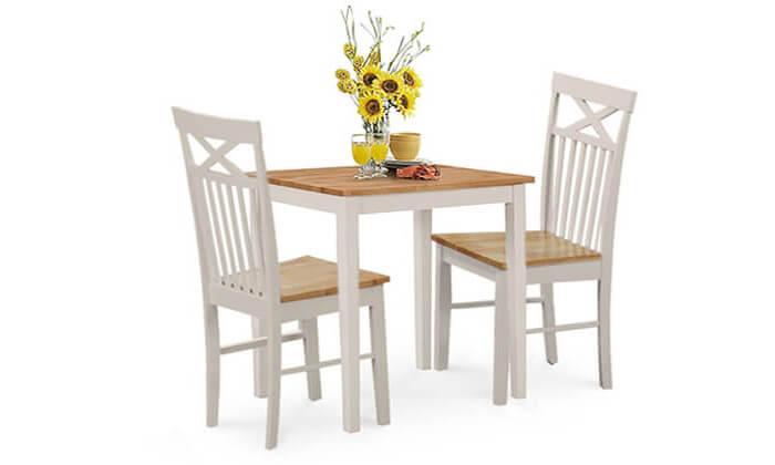 3 שמרת הזורע: פינת אוכל עם 2 כיסאות