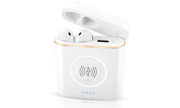 4 זוג אוזניות Bluetooth אלחוטיות
