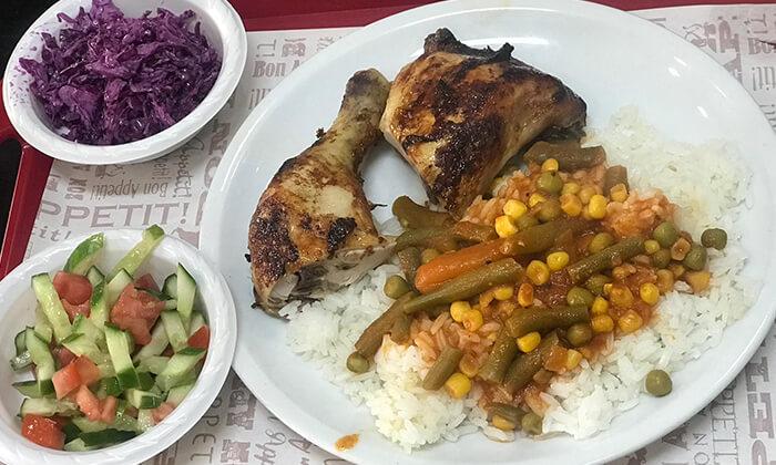 5 עוף בגריל במסעדת עוף אקספרס, חולון