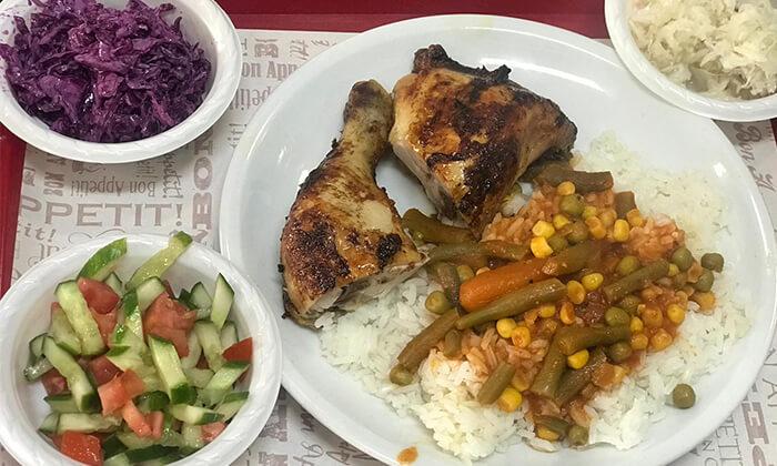 7 עוף בגריל במסעדת עוף אקספרס, חולון