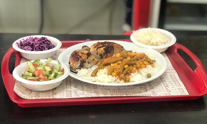 8 עוף בגריל במסעדת עוף אקספרס, חולון