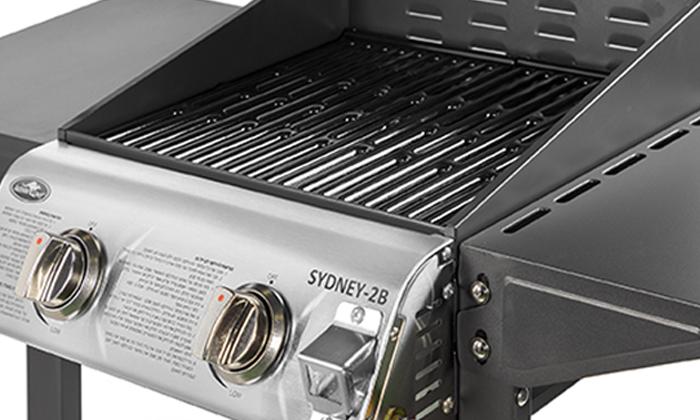 4 גריל גז 2 מבערים Australia Chef דגם SYDNEY 2B