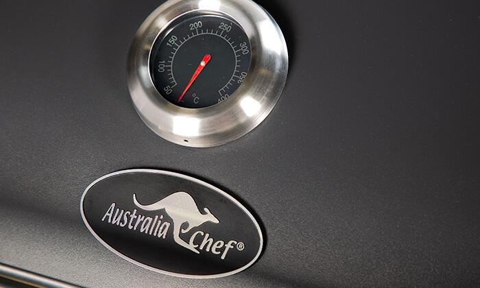5 גריל גז 2 מבערים Australia Chef דגם SYDNEY 2B
