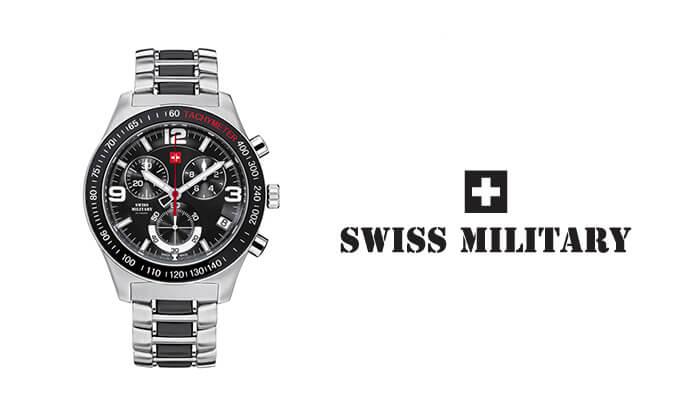 3 שעון יד לגבר SWISS MILITARY