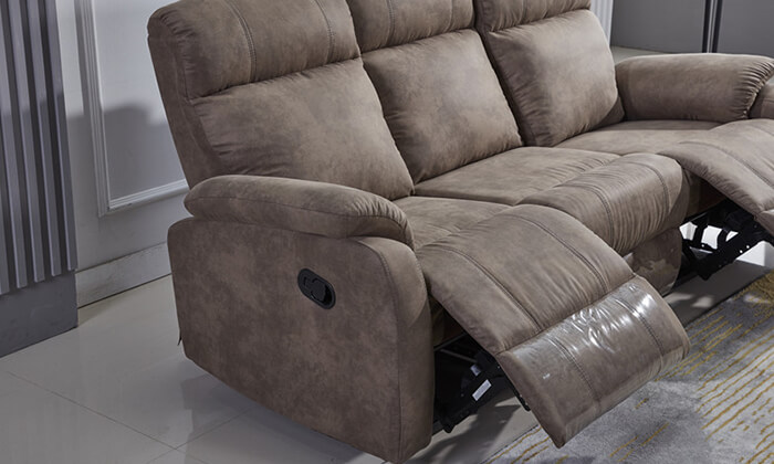 5 ספה דו ותלת מושבית עם ריקליינרים LEONARDO