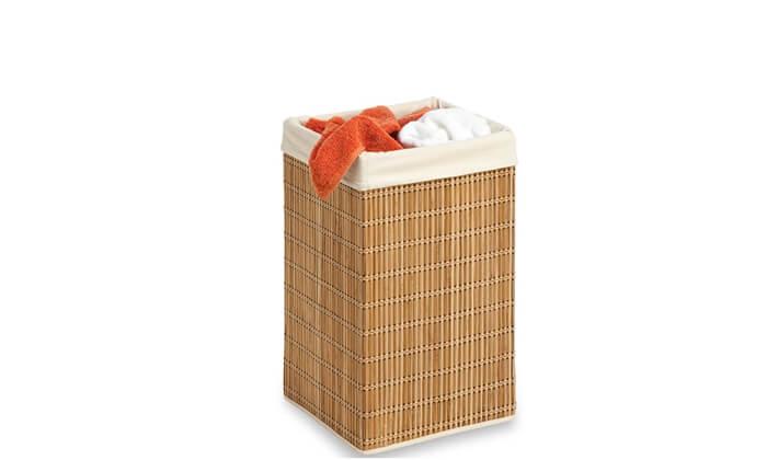 3 סל כביסה מרובע מבמבוק Honey can do