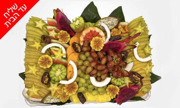 4 מגש פירות כשר מ-Enerjuicer, בר מיצים טבעיים בבן יהודה - משלוח חינם למגוון יישובים
