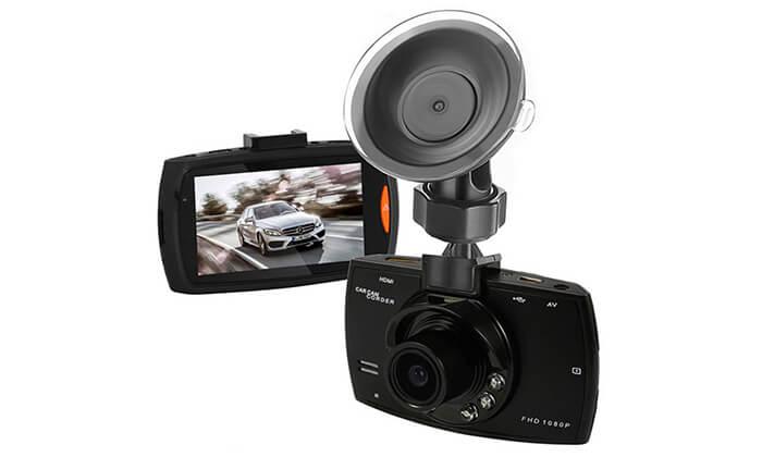 3 מצלמת דרך לרכב לצילום סרטי וידאו עם קול