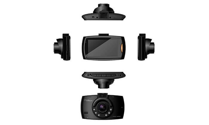 4 מצלמת דרך לרכב לצילום סרטי וידאו עם קול