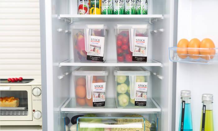 4 סט 4 קופסאות למקרר