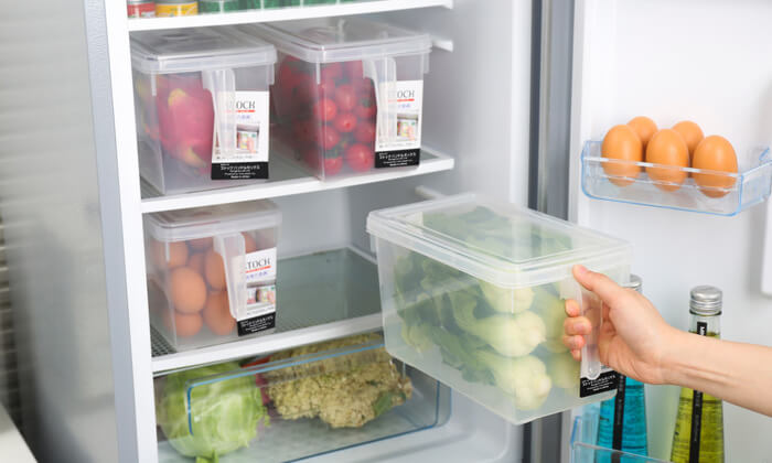 5 סט 4 קופסאות למקרר