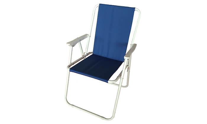 2 כיסא חוף מתקפל