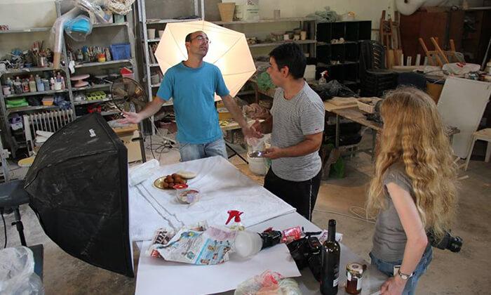4 קורס צילום בסטודיו פוטוגון, נצר סירני