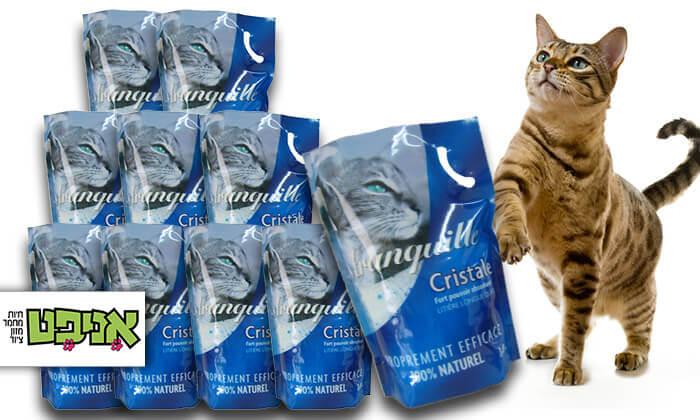 2 10 שקי חול קריסטל לחתול