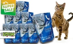 11 חבילות חול קריסטל לחתול