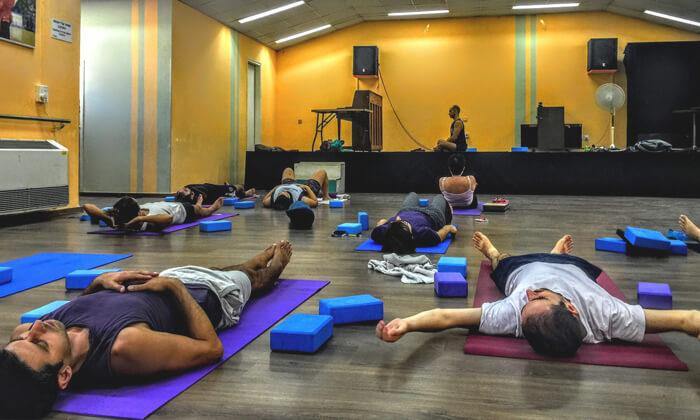 7 שיעורי יוגה ב-YAM מרכז יוגה ורפואה משלימה, חיפה