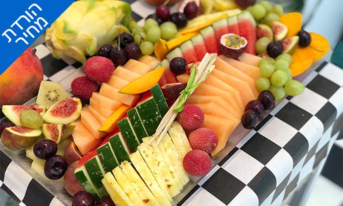 """5 מגש פירות כשר - בר בריאות טרופיקו, קניון איילון ר""""ג ושנקין גבעתיים"""
