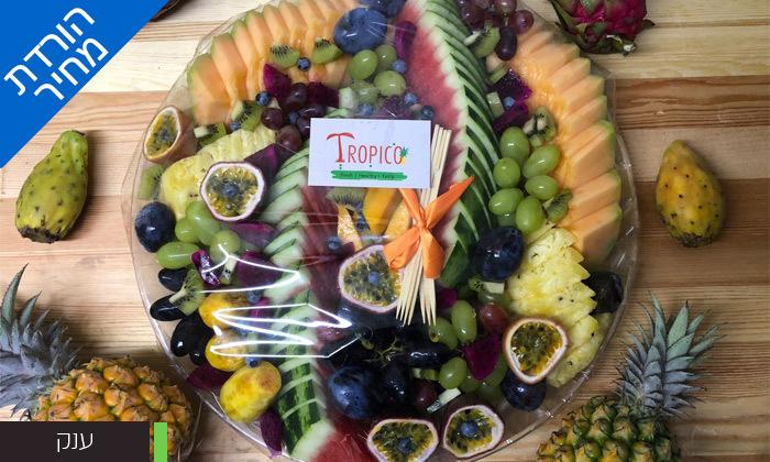 """7 מגש פירות כשר של טרופיקו, קניון איילון ר""""ג ושנקין גבעתיים"""