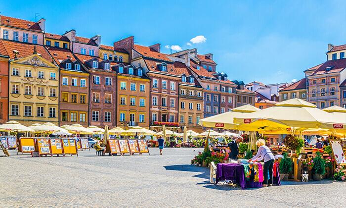 ורשה שלא הכרתם: מגוון סיורים מרתקים לבחירה בעיר
