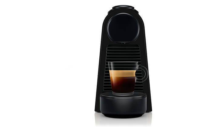 4 מכונת קפה נספרסו Nespresso כולל 14 קפסולות מתנה