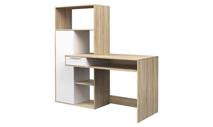 6 שולחן עבודה וספרייה HOME DECOR