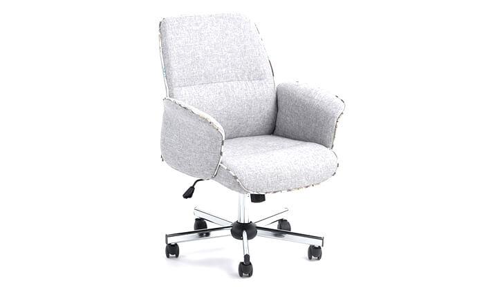 4 כיסא משרדי מרופד HOMAX